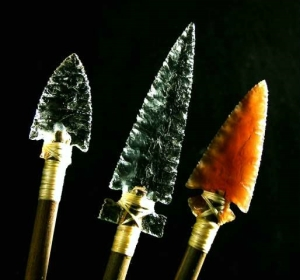 flint arrows