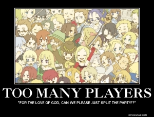 too many players