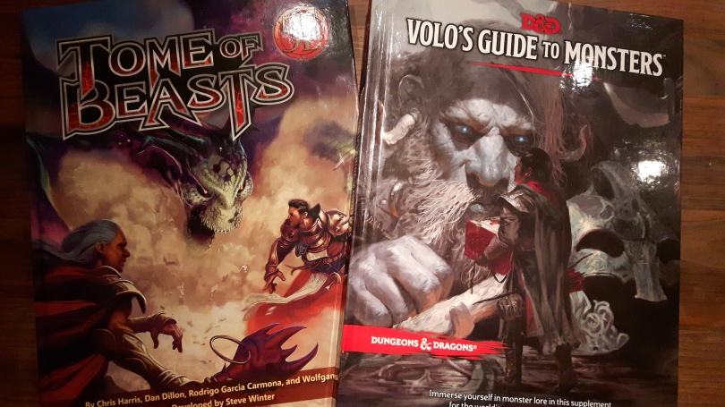 A Monster Review: Volo's Guide and Tome of Beasts – mindlands