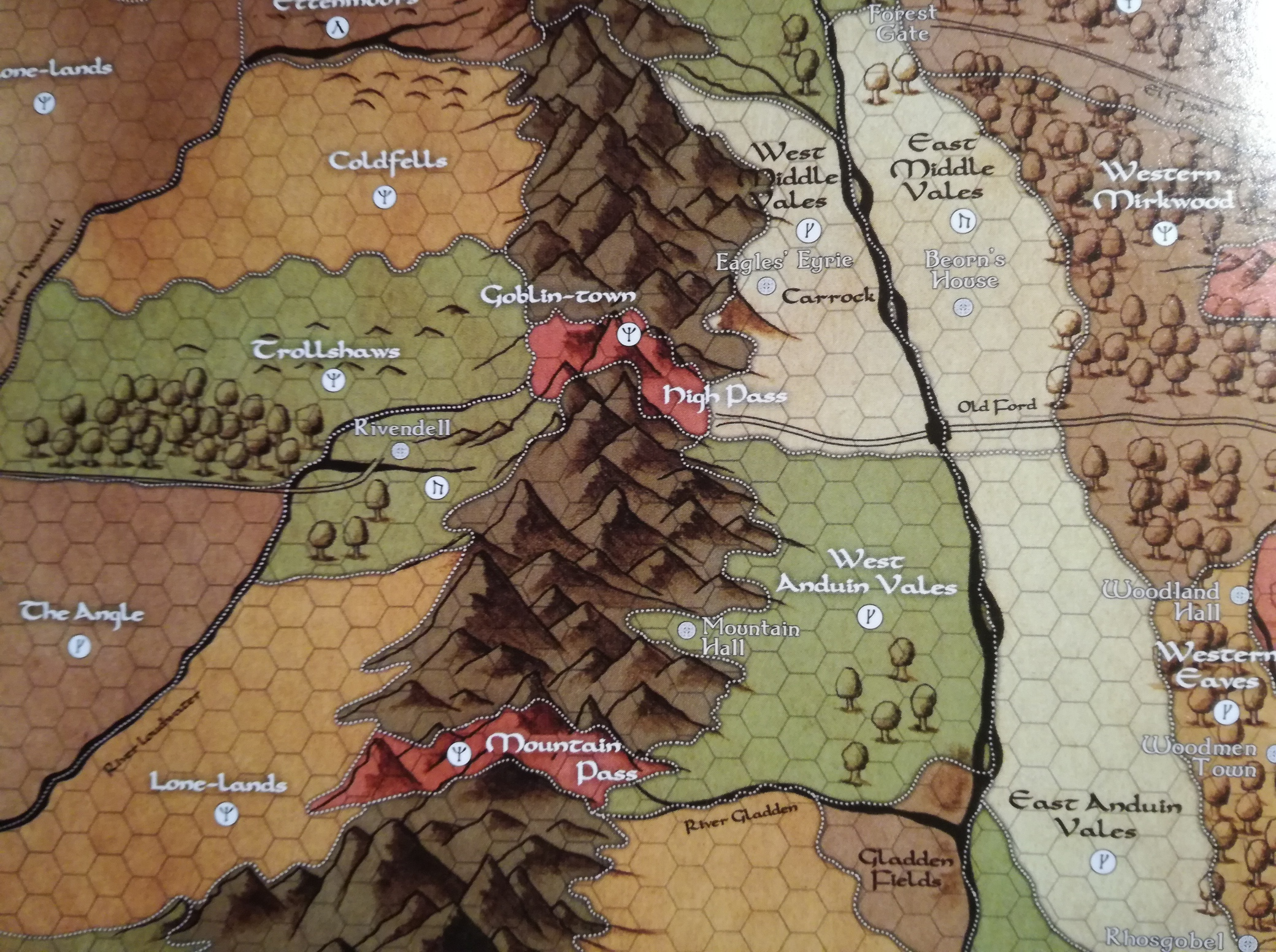 Adventures in MiddleEarth Players Guide Review mindlands
