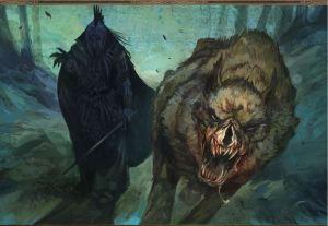 Werewolf and nazgul